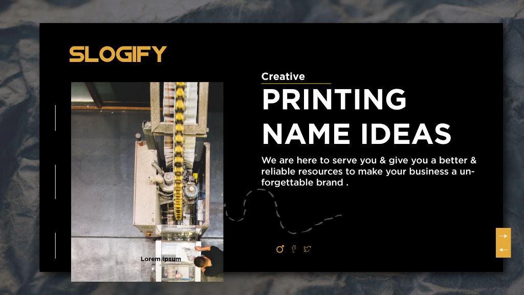 113 Catchy Printing Business Name Ideas For Business Slogify