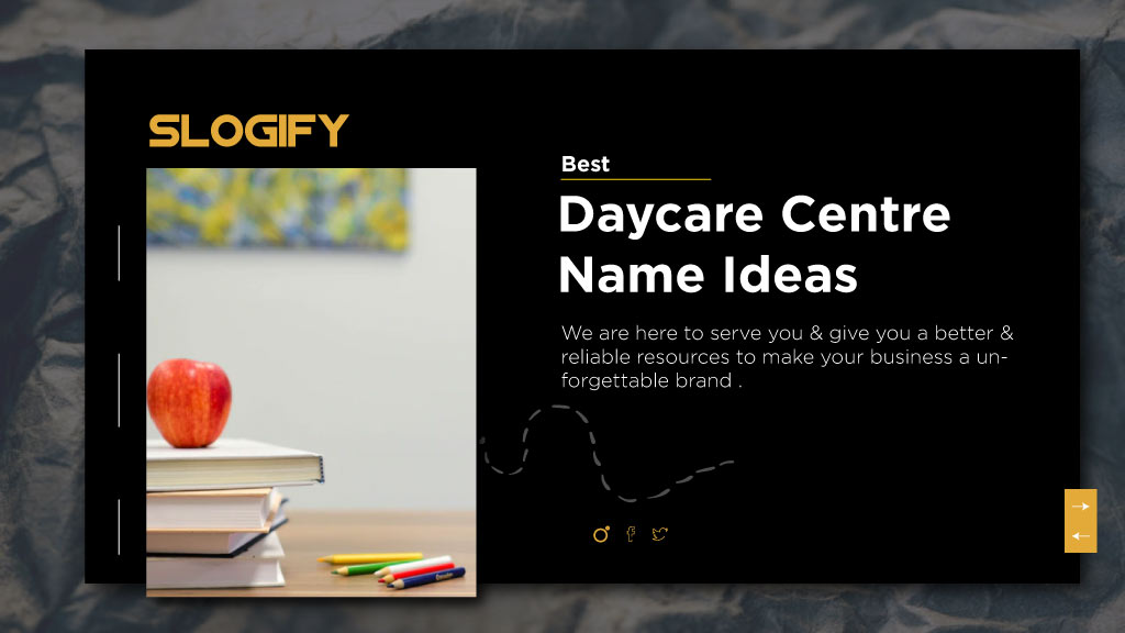 daycare center names ideas