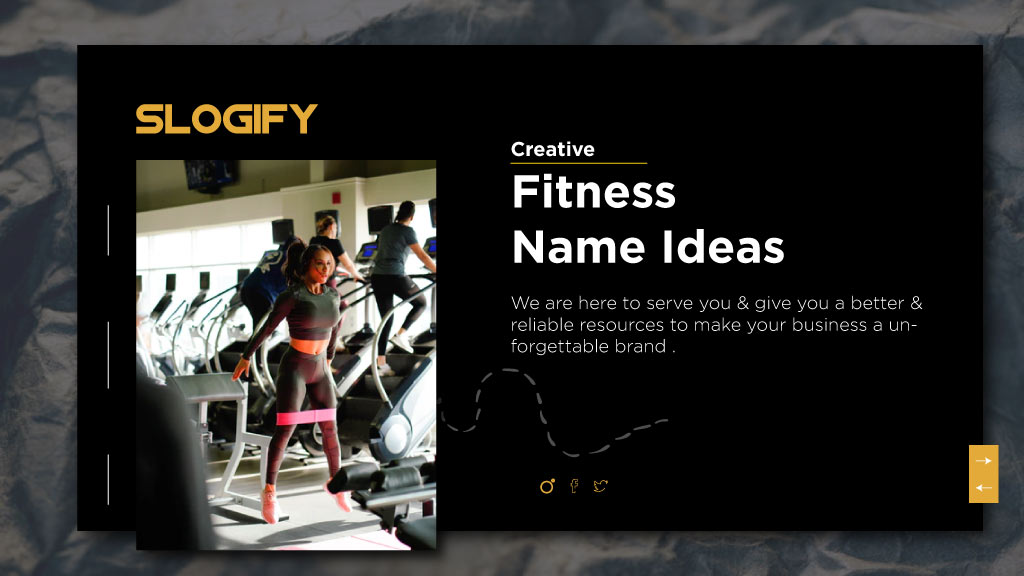 fitness name ideas