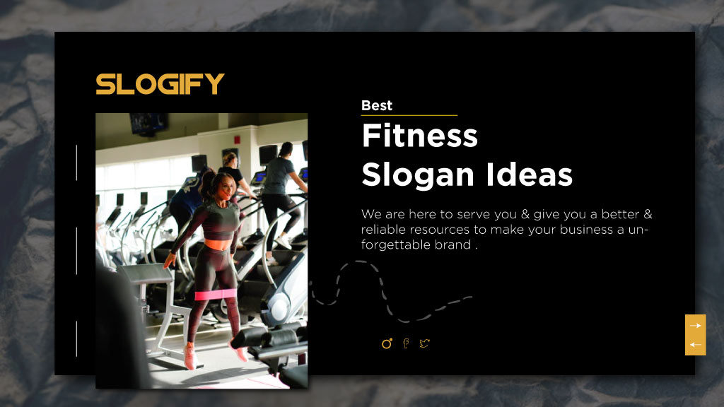 fitness slogan ideas