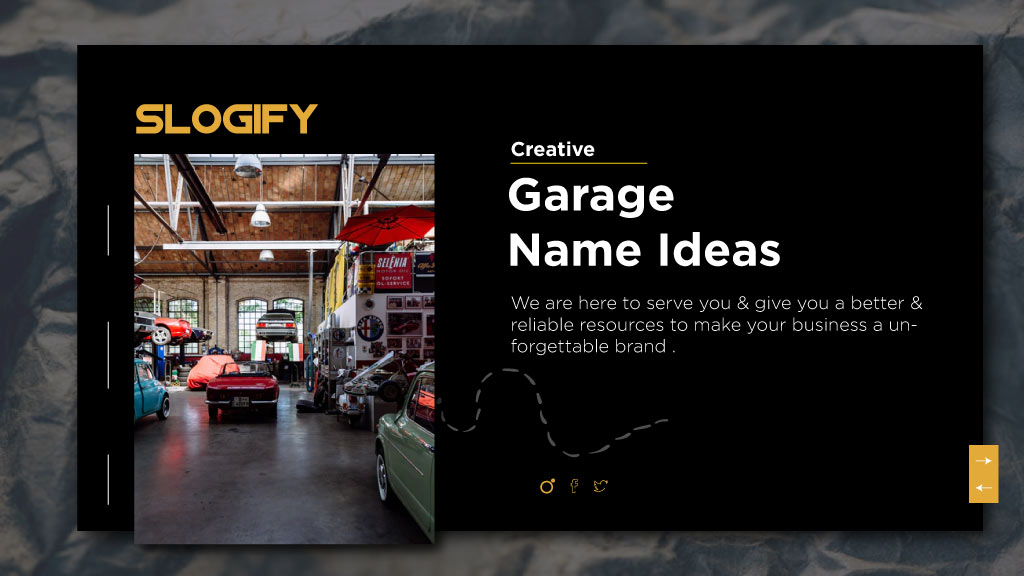 garage name ideas