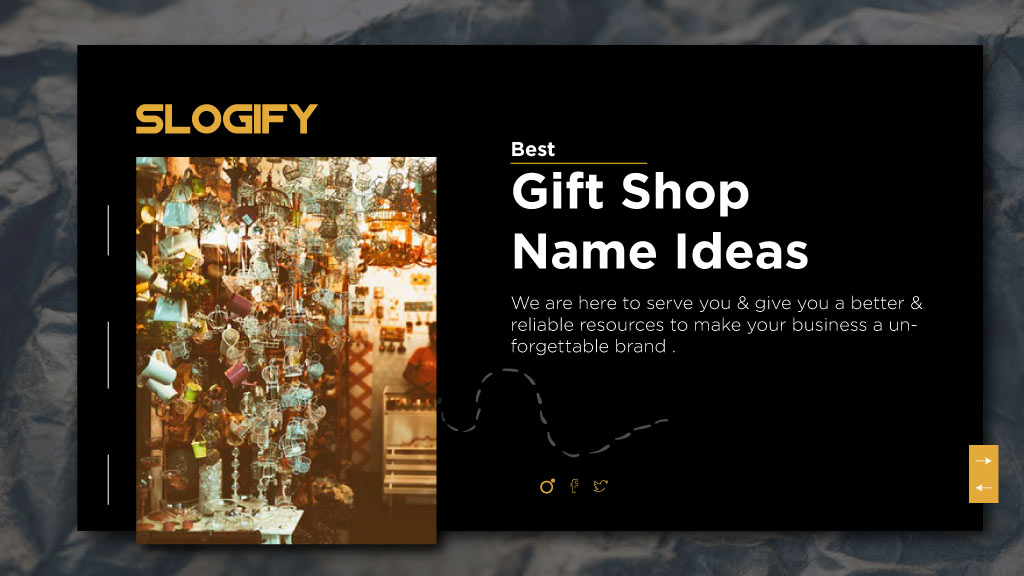 gift shop name ideas
