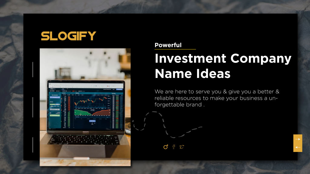 investment company name ideas