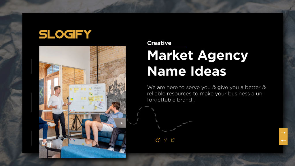 marketing agency name ideas