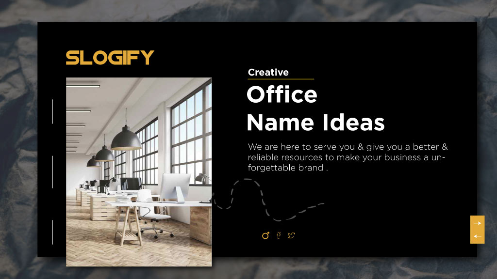 office names ideas