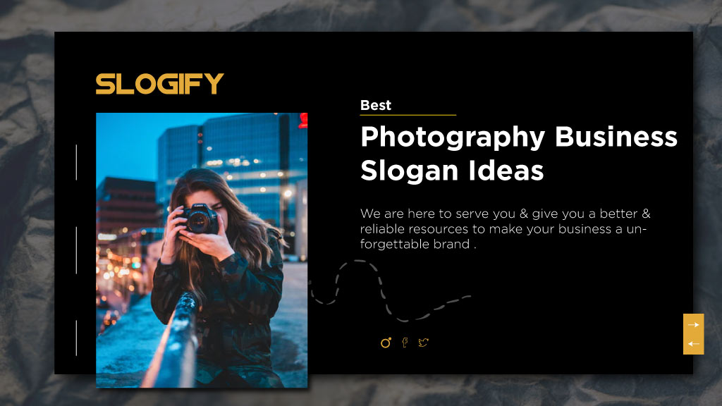photography slogan ideas