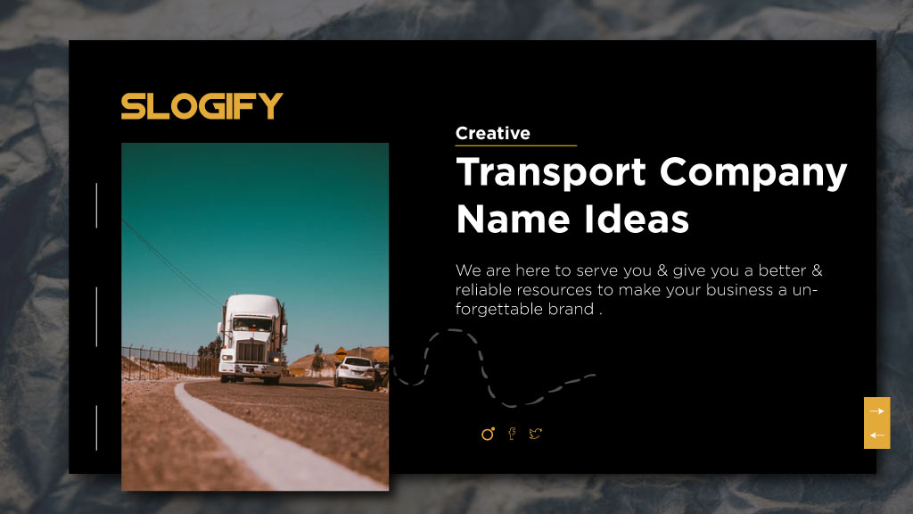 transport company names