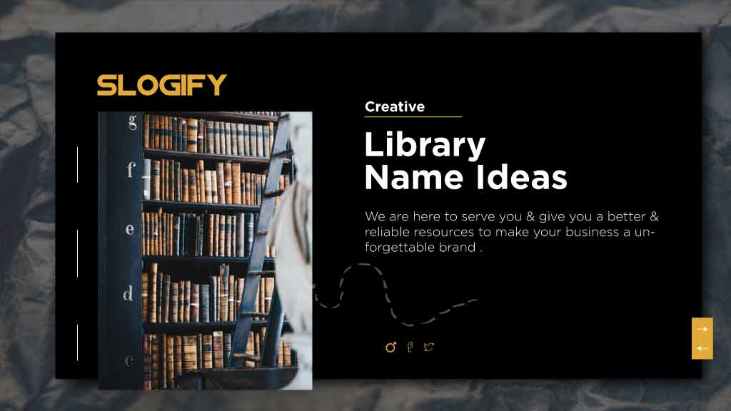 library name ideas